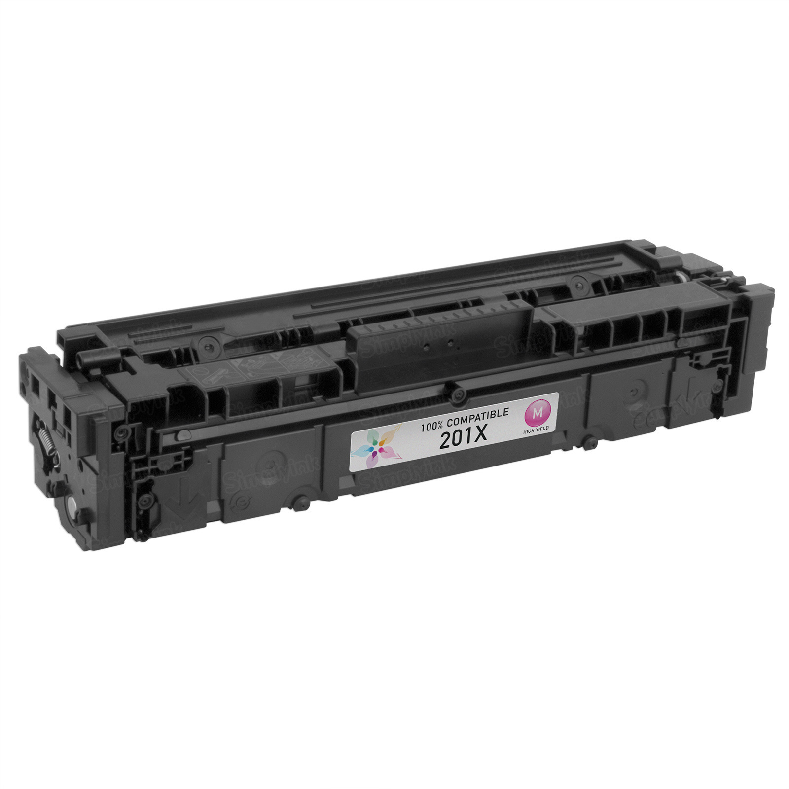 Compatible Brand HY Magenta Laser Toner for HP 201X