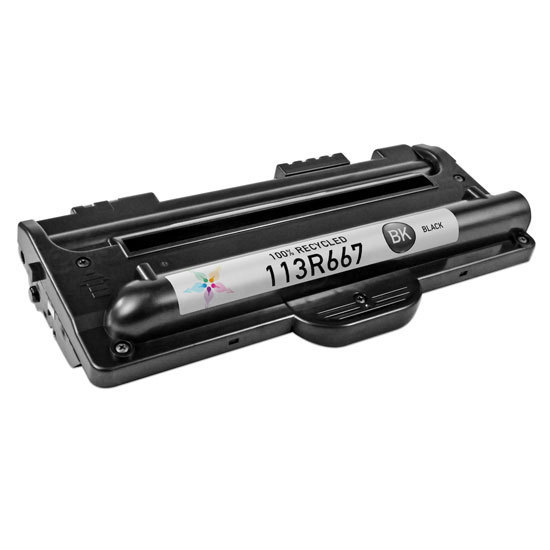 Remanufactured Xerox 113R667 Black Toner for the WorkCentre Pro PE16