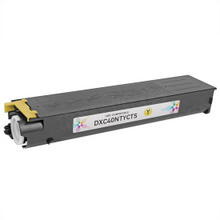 Compatible Sharp DX-C40NTY Yellow Laser Toner Cartridges