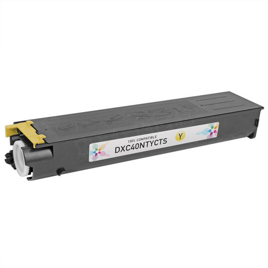 Sharp Compatible DX-C40NTY Yellow Toner