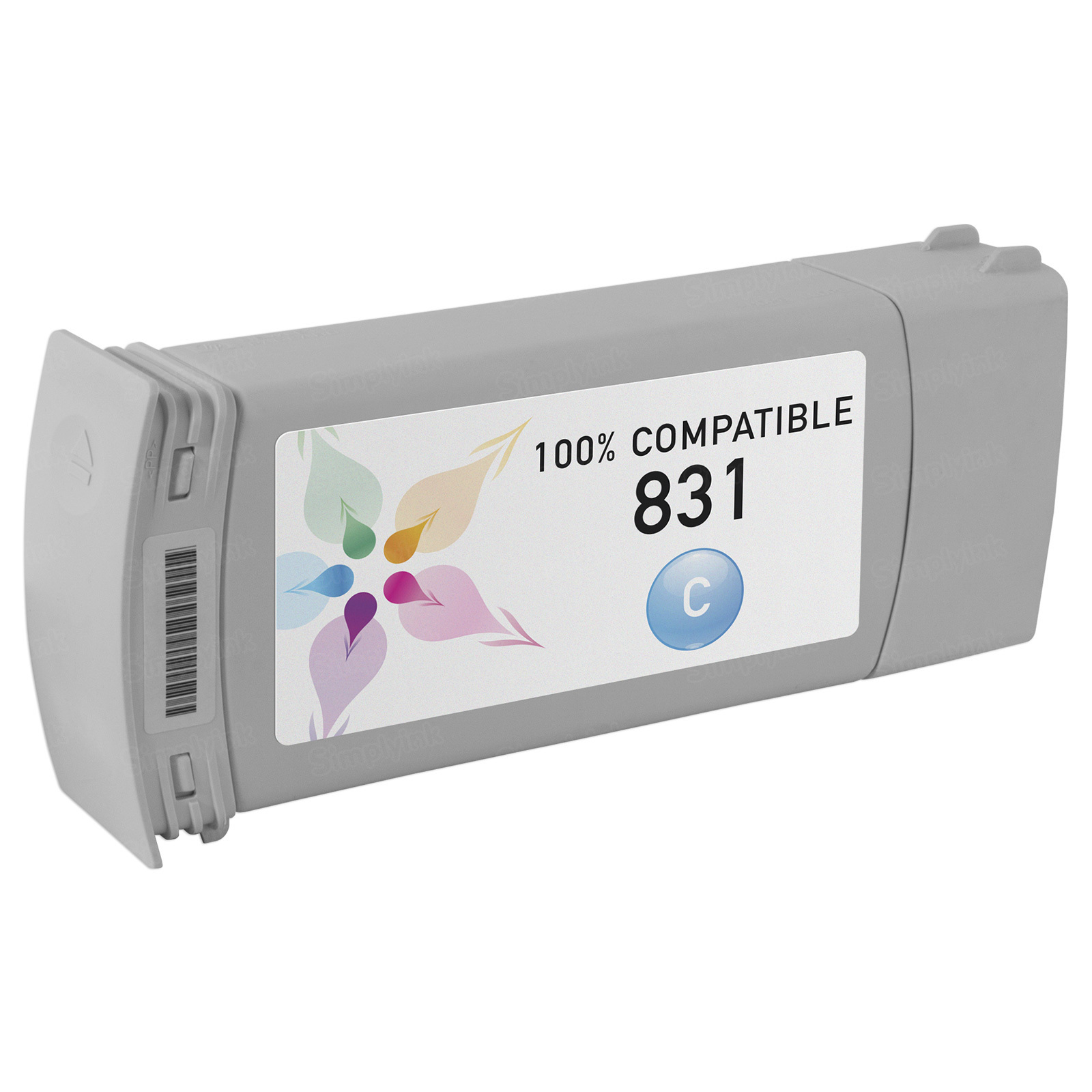 Compatible Brand Cyan Latex Ink for HP 831