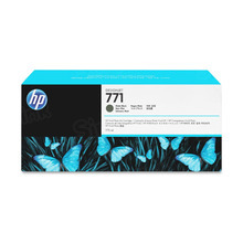 Original HP 771 Matte Black Ink Cartridge in Retail Packaging (CE037A)