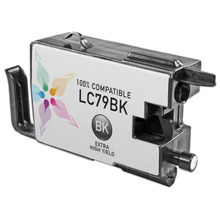 Compatible Brother LC79BK Extra High Yield Black Ink Cartridges for the MFC-J6510DW, MFC-J6710DW