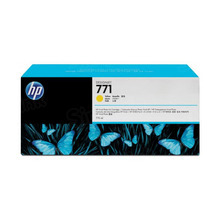 Original HP 771 Yellow Ink Cartridge in Retail Packaging (CE040A)