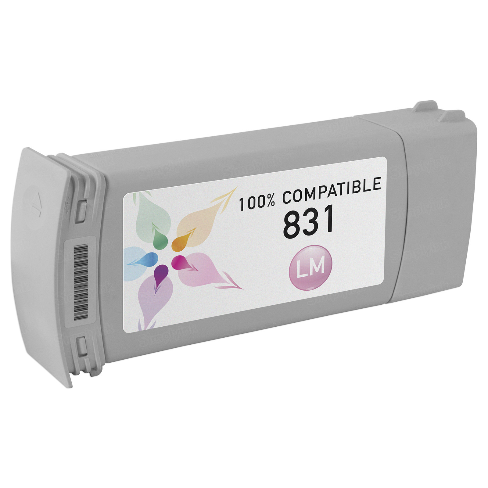 Compatible Brand Light Magenta Latex Ink for HP 831