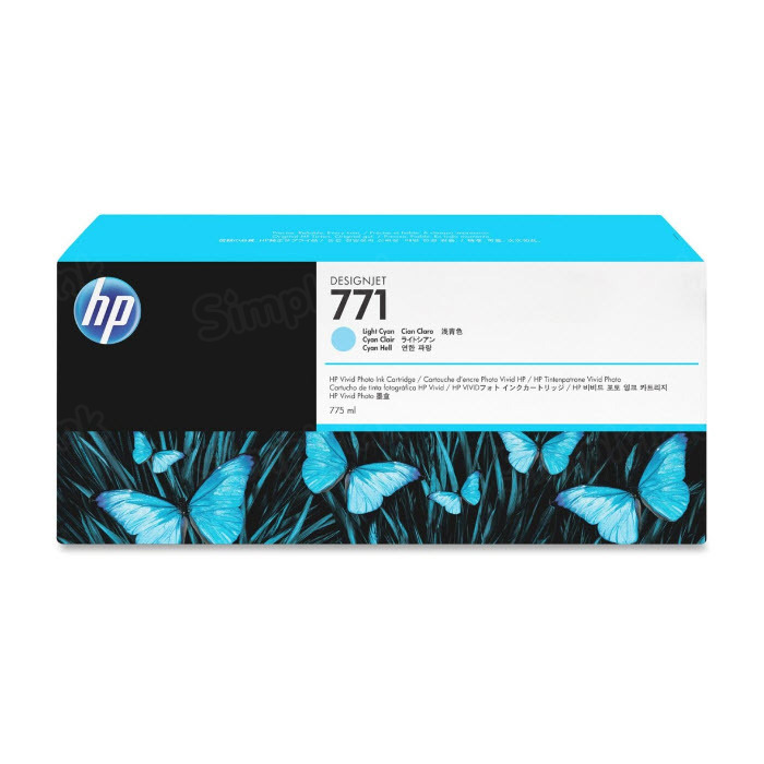 HP 771 Light Cyan Original Ink Cartridge CE042A