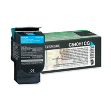 Lexmark Original High Yield Cyan Return Program Laser Toner Cartridge, C540H1CG