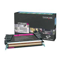 Lexmark OEM High Yield Magenta Laser Toner Cartridge, C736H4MG (C736dn / X746de) (10,000 Page Yield)