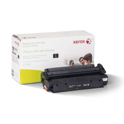 Xerox Remanufactured HY Black Laser Toner for Hewlett Packard C7115X