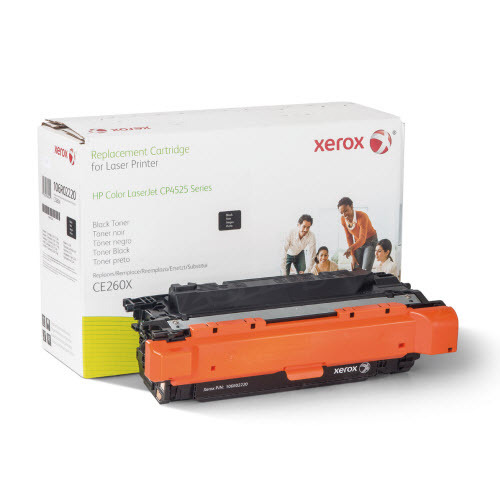 Xerox Remanufactured HY Black Laser Toner for Hewlett Packard CE260X