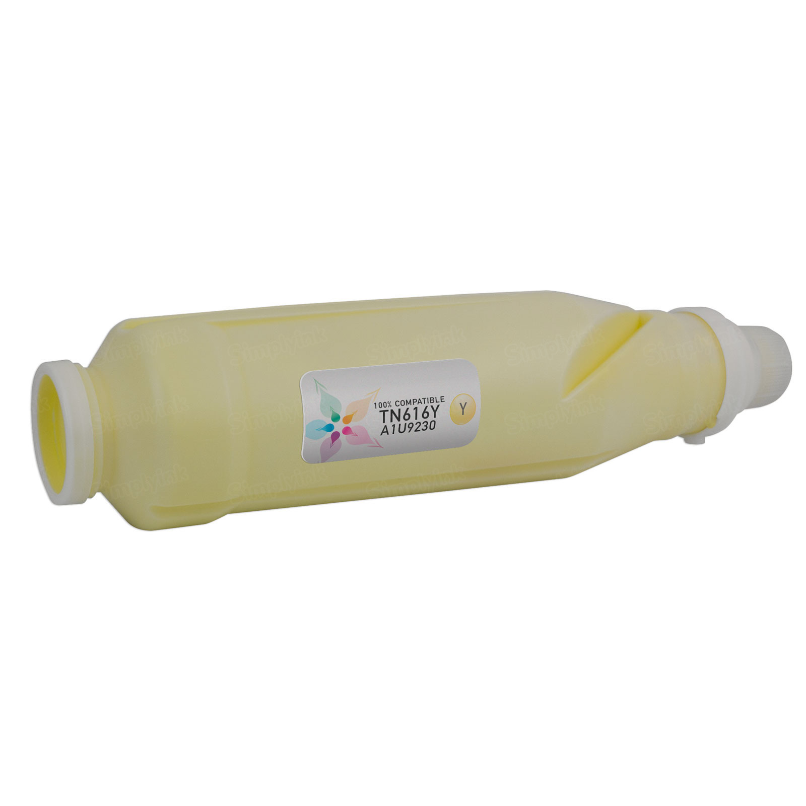 Compatible TN616Y Yellow Toner