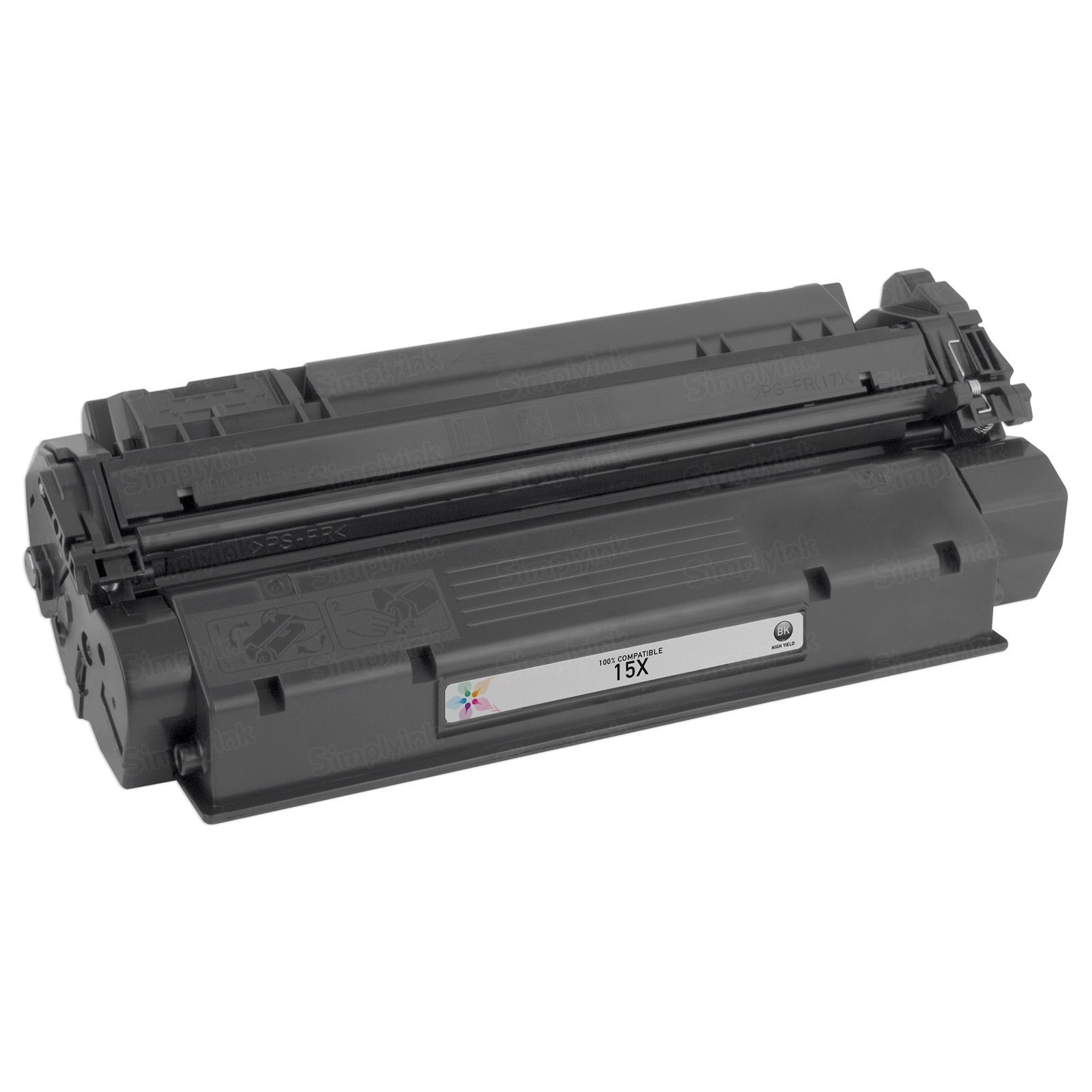 Replacement HY Black Toner for HP 15X