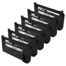 Compatible Epson ERC-18B Black 6 Pack POS Ribbons