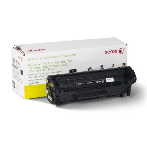 Xerox Remanufactured Black Laser Toner for Hewlett Packard Q2612A