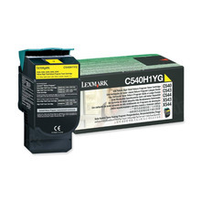 Lexmark Original High Yield Yellow Return Program Laser Toner Cartridge, C540H1YG