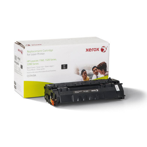 Xerox Remanufactured Black Laser Toner for Hewlett Packard Q5949A