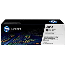 HP 305A (CE410A) Black Original Toner Cartridge in Retail Packaging