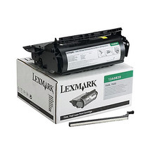 Lexmark OEM High Yield Black Laser Toner Cartridge, 12A6839 (T520 / X522) (20,000 Page Yield)