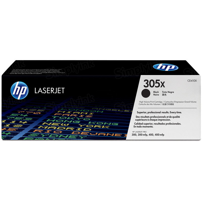 Original HP CE410X (305X) HY Black Toner