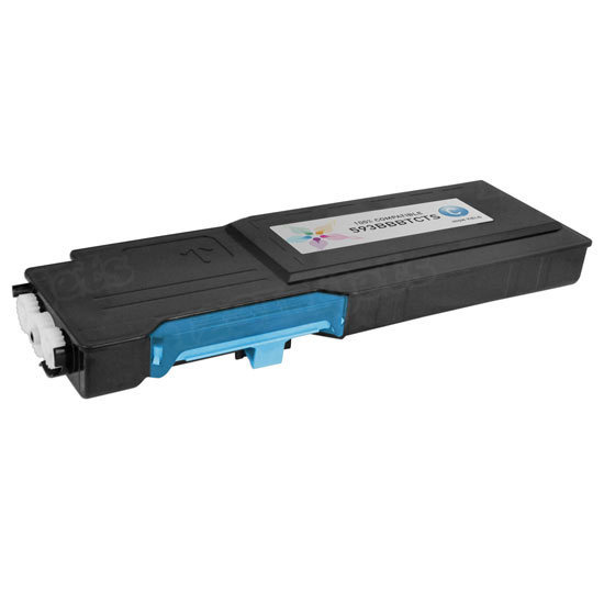 Alternative Cyan Toner for Dell C2660dn / C2665dnf, 593-BBBT, 488NH, TW3NN