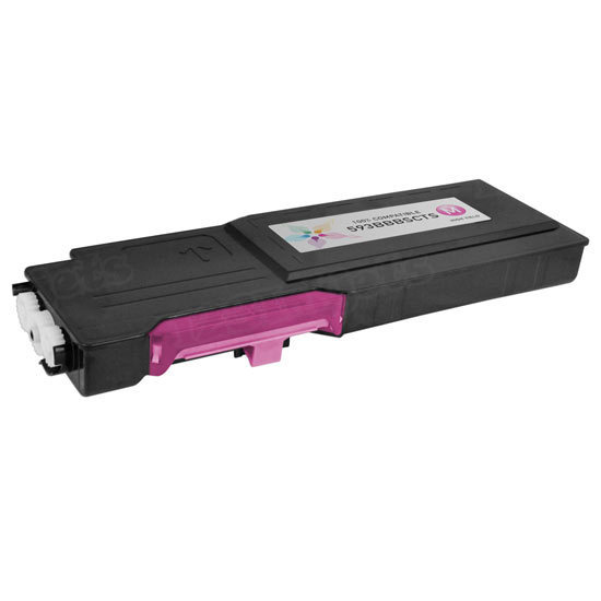 Alternative Magenta Toner for Dell C2660dn / C2665dnf, 593-BBBS, VXCWK, V4TG6