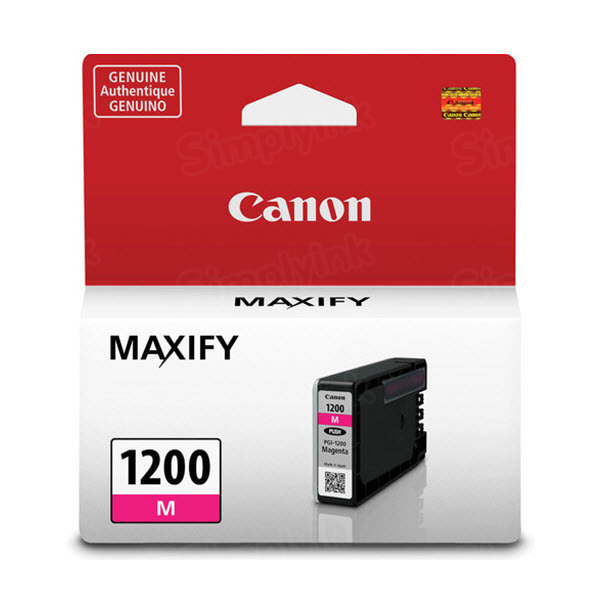 Canon PGI-1200 Magenta Ink Cartridge, OEM