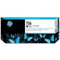 Original HP 726 Matte Black Ink Cartridge in Retail Packaging (CH575A)