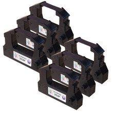 Compatible Epson ERC-28P Purple 6 Pack POS Ribbons