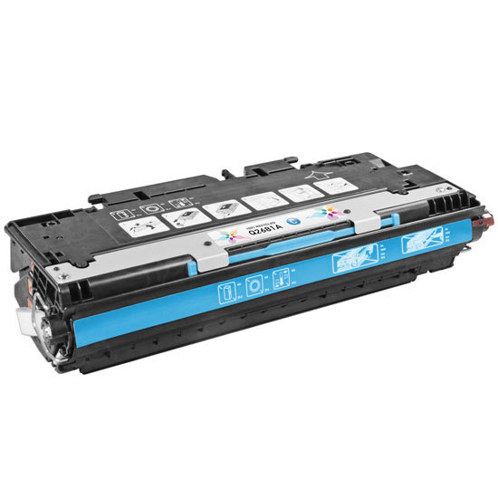 Remanufactured Replacement Cyan Laser Toner for HP 311A