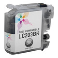 Compatible LC203BK HY Black Ink for Brother