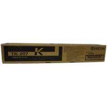 OEM Kyocera 1T02K00US0 Black Laser Toner Cartridge, TK-897K