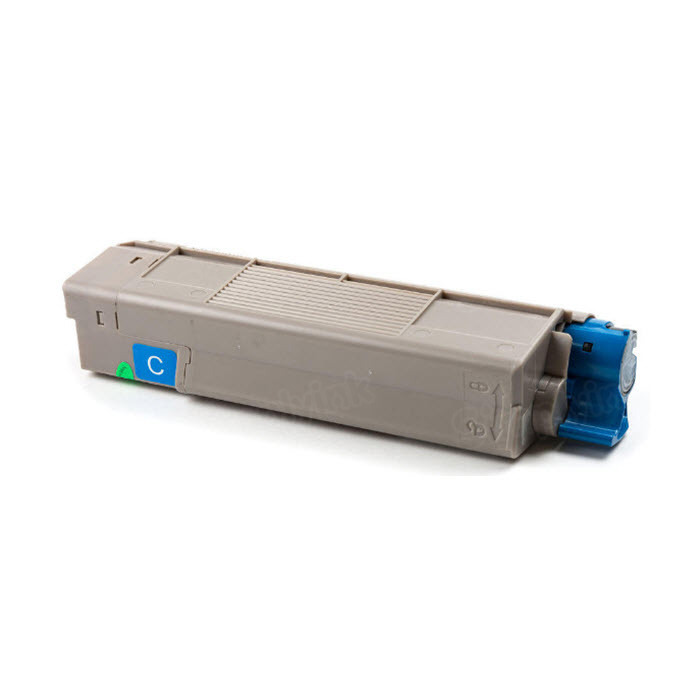 OEM Okidata 43324476 Cyan Toner Cartridge