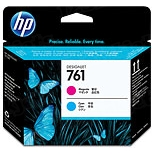 Original HP 761 Cyan and Magenta Printhead in Retail Packaging (CH646A)