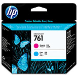 HP 761 Cyan and Magenta Original Printhead CH646A