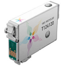 Remanufactured Epson T124120 (T1241) Moderate Capacity Black Ink Cartridges