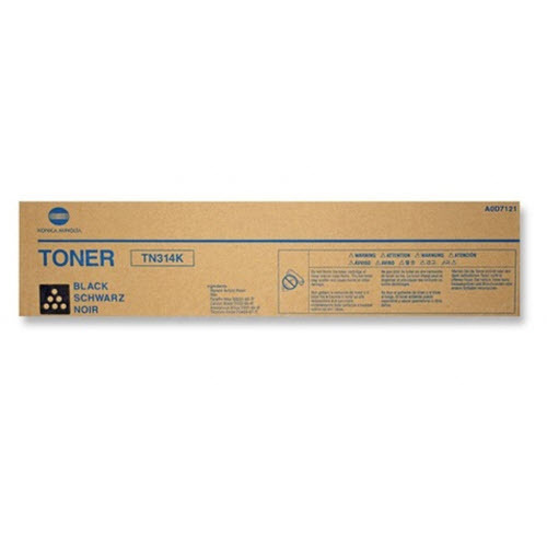 TN314K Black Toner for Konica Minolta