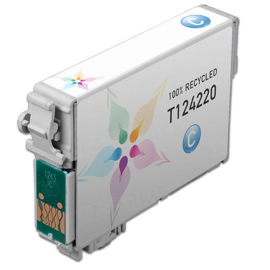 Epson Remanufactured T124220 (T1242) Cyan Inkjet Cartridge