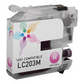 Compatible LC203M HY Magenta Ink for Brother
