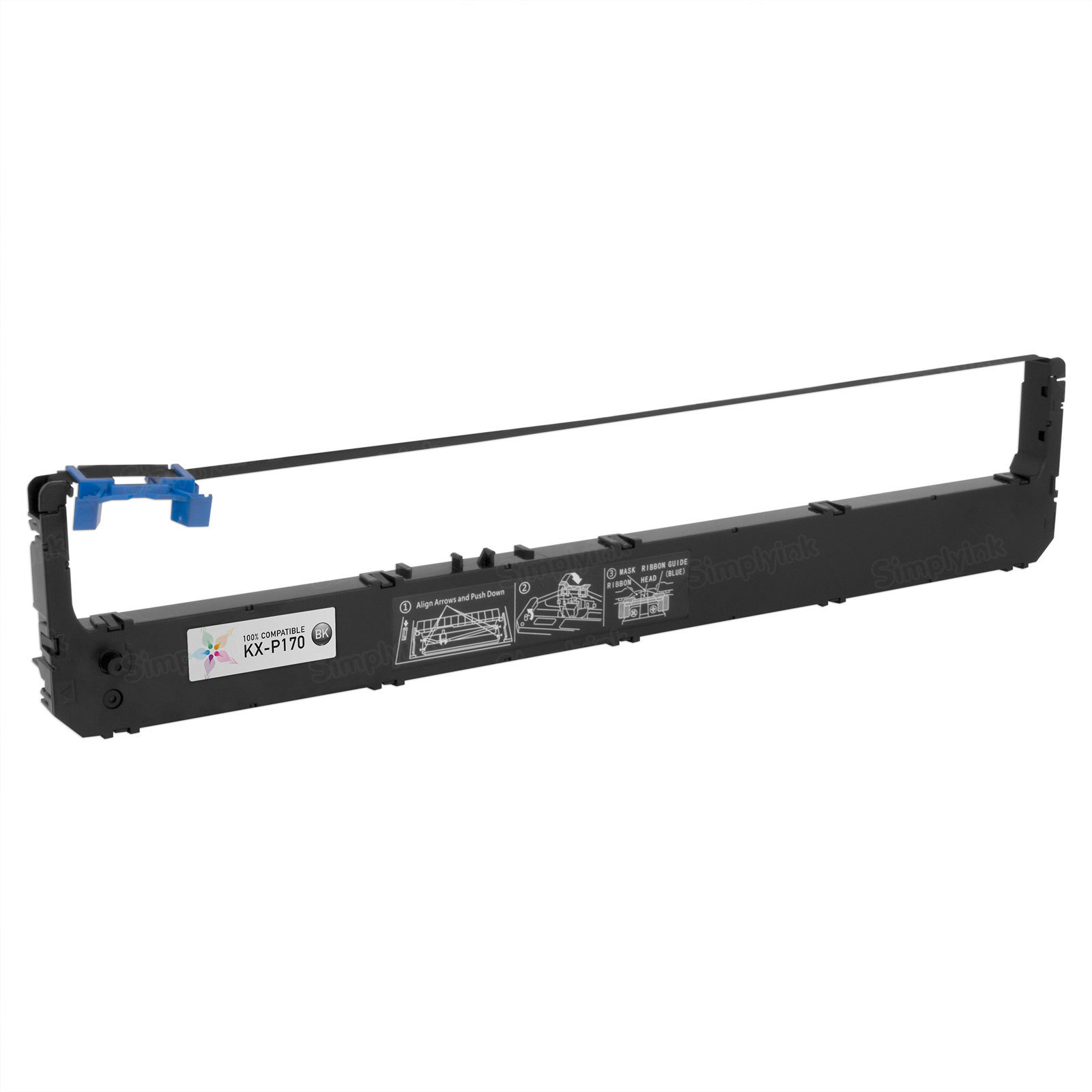 Panasonic Compatible Black KX-P170 Ribbon