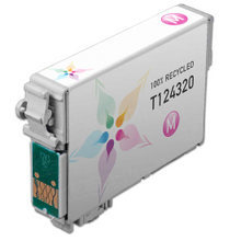 Remanufactured Epson T124320 (T1243) Moderate Capacity Magenta Ink Cartridges