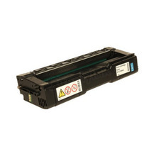 OEM Ricoh 406476 Cyan High-Yield Laser Toner Cartridge