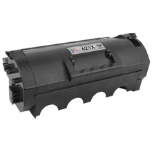 Lexmark Compatible Extra High Yield Black Laser Toner Cartridge, 62D1X00 (45K Page Yield)