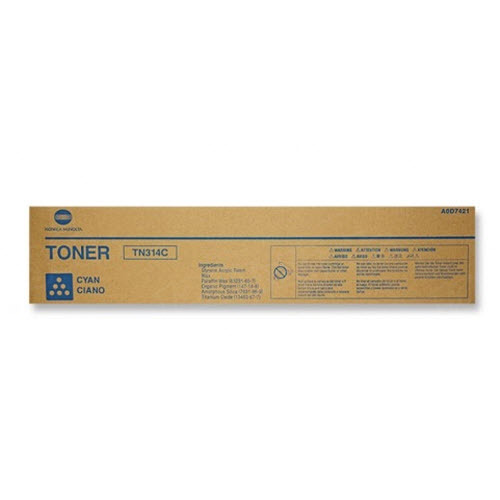 TN314C Cyan Toner for Konica Minolta