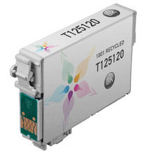 Remanufactured Epson T125120 (T1251) Standard Yield Black Ink Cartridges