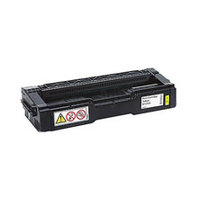 OEM Ricoh 406478 Yellow High-Yield Laser Toner Cartridge