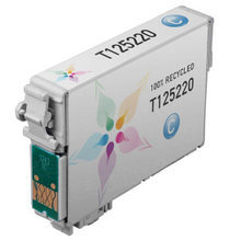 Remanufactured Epson T125220 (T1252) Standard Yield Cyan Ink Cartridges
