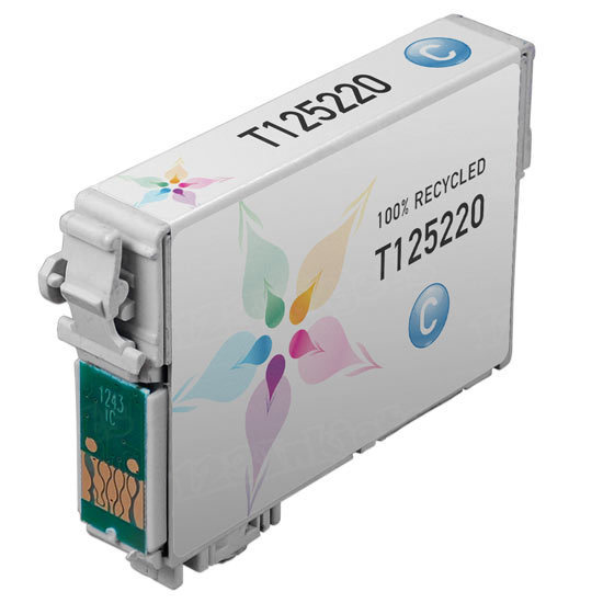 Epson Remanufactured T125220 (T1252) Cyan Inkjet Cartridge