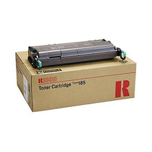 OEM Ricoh 410302 Black Laser Toner Cartridge, Type 185
