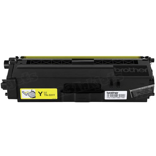 OEM Brother TN331Y Yellow Toner Cartridge