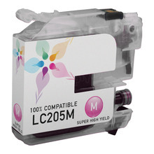 Compatible LC205M Super High Yield Magenta Ink Cartridge for Brother
